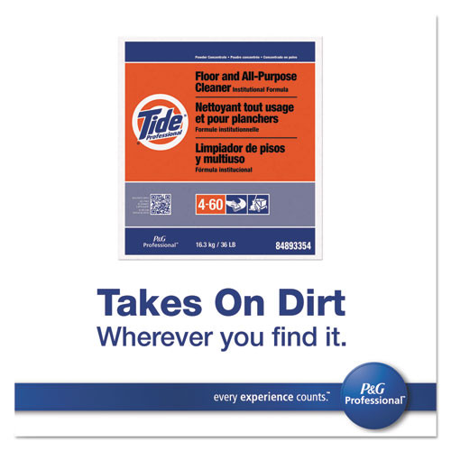 Tide Professional Floor and All-Purpose Cleaner  18lb Box (PGC 02363)