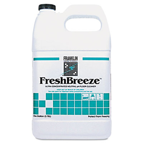 Franklin Cleaning Technology FreshBreeze Ultra Concentrated Neutral pH Cleaner  Citrus  1gal  4 Carton (FRK F378822)