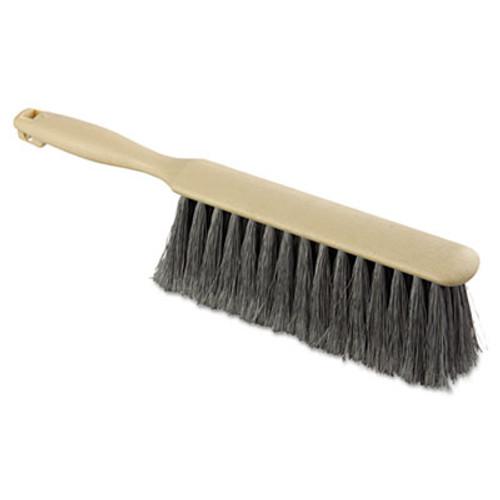 Boardwalk Counter Brush  Flagged Polypropylene Fill  8  Long  Tan Handle (BWK 5408)