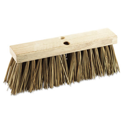 Boardwalk Street Broom Head  16  Wide  Palmyra Bristles (BWK 71160)