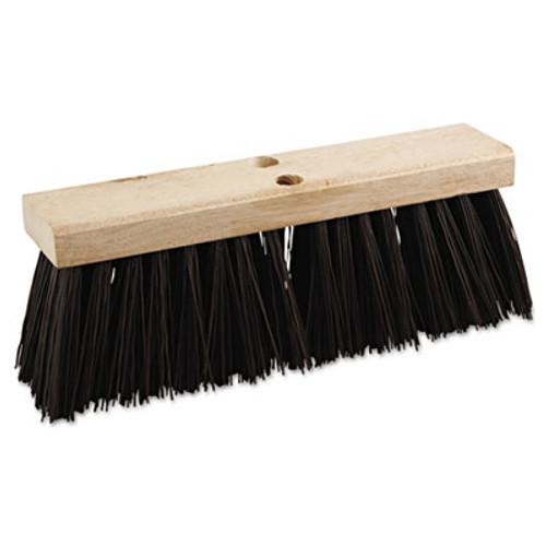 Boardwalk Street Broom Head  16  Wide  Polypropylene Bristles (BWK 73160)