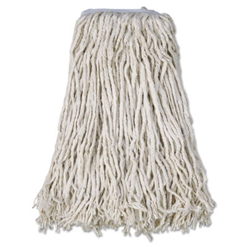 Boardwalk Cotton Mop Head  Cut-End   32  White  12 Carton (BWK CM02032S)