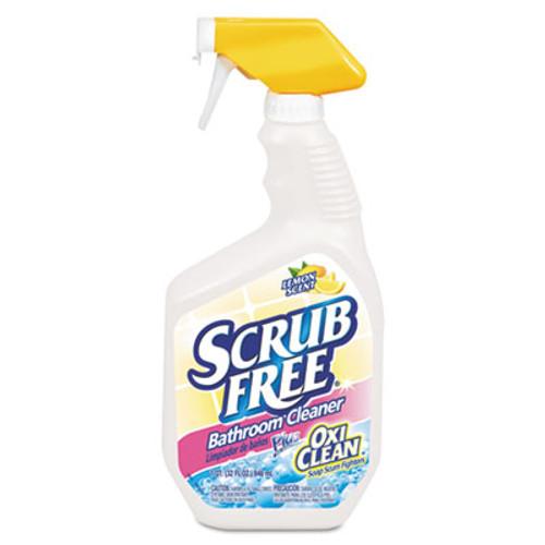 Arm & Hammer Scrub Free Soap Scum Remover  Lemon  32oz Spray Bottle  8 Carton (CDC 33200-35255)