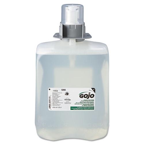 GOJO Green Certified Foam Hand Cleaner, 2000mL Refill, 2/Carton (GOJ 5265-02)