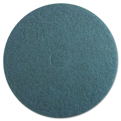 Boardwalk Aqua Burnishing Floor Pads  20  Diameter  5 Carton (PAD 4020 AQU)