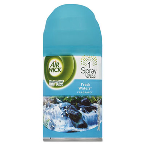 Air Wick Freshmatic Ultra Automatic Spray Refill, Fresh Waters, Aerosol, 6.17 oz (REC 79553)
