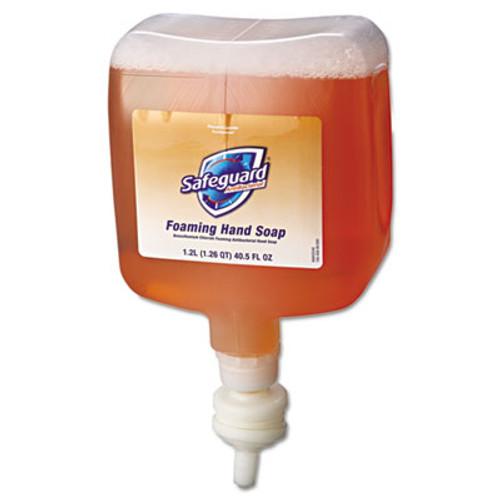 Safeguard Antibacterial Foam Hand Soap  Pleasant Scent  1200mL Bottle  4 Carton (PGC 47435)