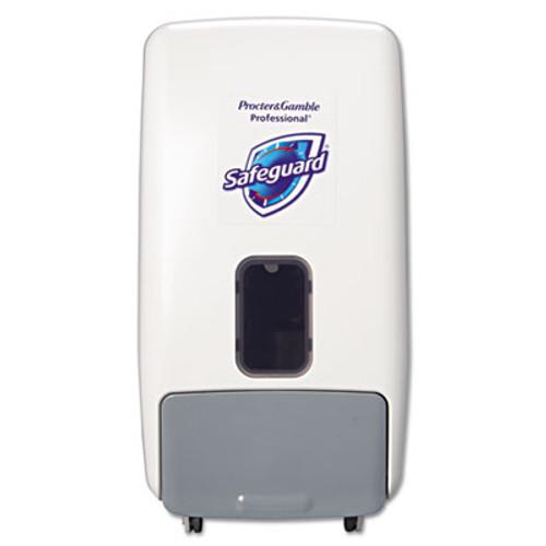 Safeguard Foam Hand Soap Dispenser  1200 mL  White Gray (PGC 47436)