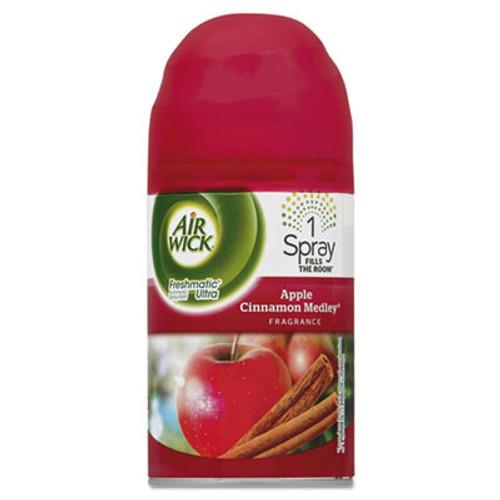 Air Wick Freshmatic Ultra Automatic Spray Refill, Apple Cinnamon Medley, Aerosol, 6.17 oz (REC 78283)