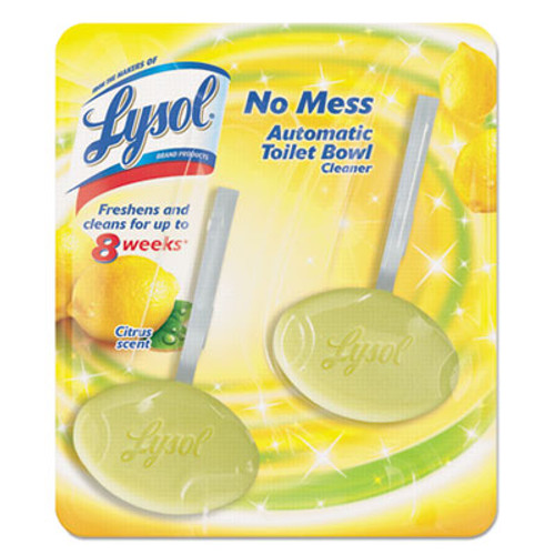LYSOL Brand Hygienic Automatic Toilet Bowl Cleaner  Lemon Breeze  2 Pack (REC 83723)