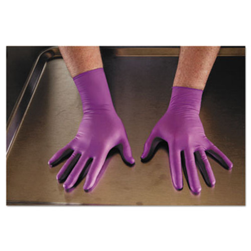 Kimberly-Clark Professional* PURPLE NITRILE Exam Gloves, Large, Purple, 500/CT (KCC 50603)
