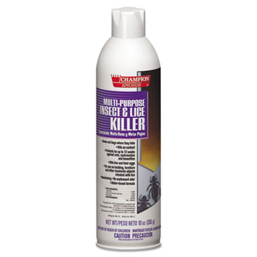 Chase Products Champion Sprayon Multipurpose Insect   Lice Killer  10oz  Can (CHA 5106)