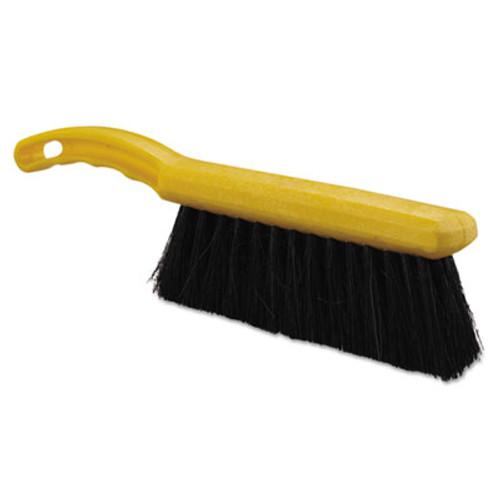 Rubbermaid Commercial Tampico-Fill Countertop Brush  Plastic  12 1 2   Yellow Handle (RCP 6341 BLA)