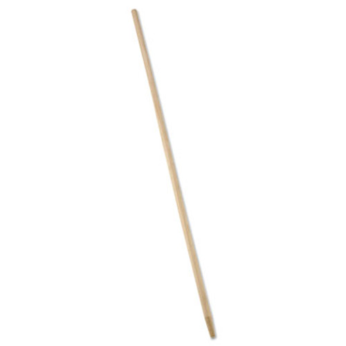 Rubbermaid Commercial Tapered-Tip Wood Broom Sweep Handle  60   Natural (RCP 6362)