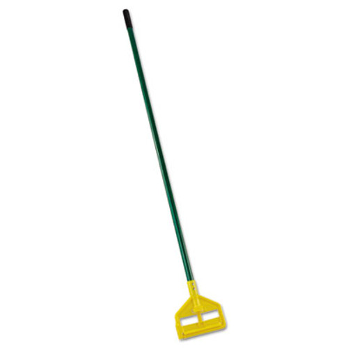 Rubbermaid Commercial Invader Side-Gate Wet-Mop Handle  60   Green  Fiberglass (RCP H146 GRE)