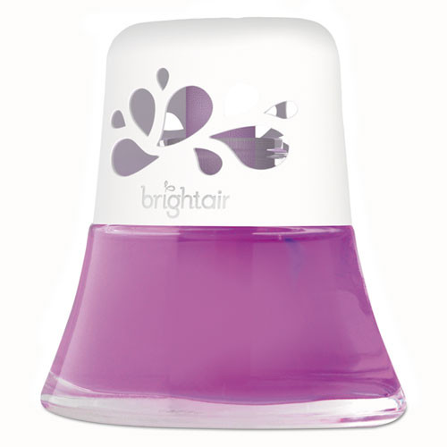 BRIGHT Air Scented Oil Air Freshener Diffuser  Fresh Petals and Peach  Pink  2 5 oz (BRI 900134)
