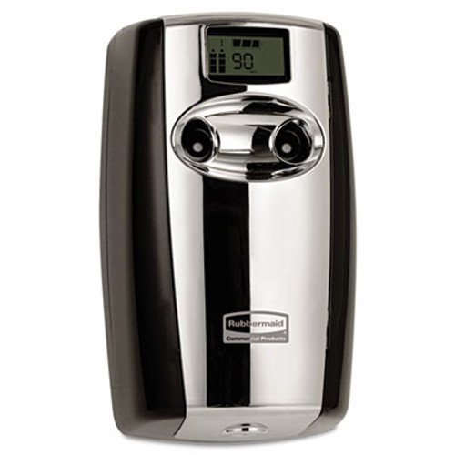Rubbermaid Commercial Microburst Duet Odor Control System  3 5  x 5 2  x 8 63   Black Chrome (TEC 4870055)