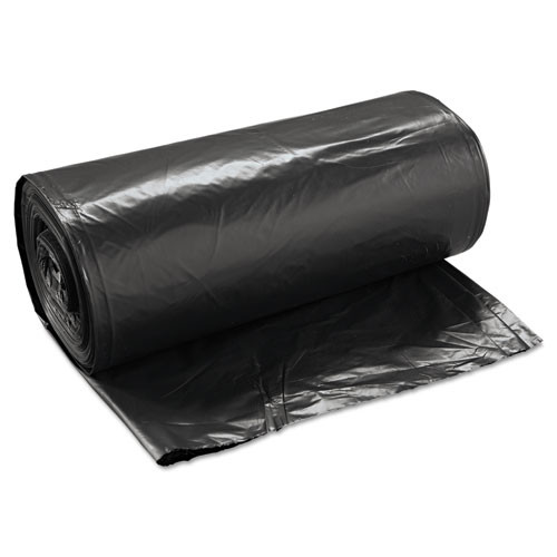 Boardwalk High-Density Can Liners  60 gal  14 microns  38  x 58   Black  200 Carton (BWK 385817BLK)