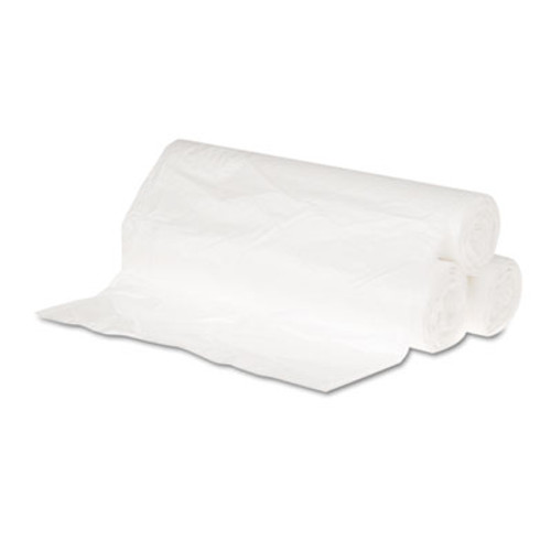 General Supply Hi-Density Can Liners, 24 x 31, 6mic, Natural, 50 Bags/Roll, 20 Rolls/CT (GEN 243106)