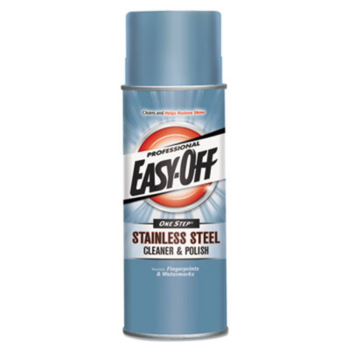 Professional EASY-OFF Stainless Steel Cleaner and Polish  Liquid  17 oz  Aerosol Can (REC 76461)