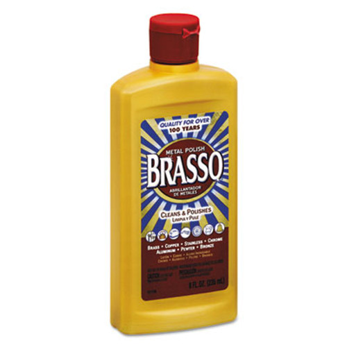 BRASSO Metal Surface Polish  8 oz Bottle (REC 89334)