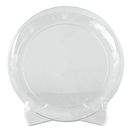 WNA Designerware Plates  Plastic  6   Clear  18 PK  10 PK CT (WNA DWP6180)