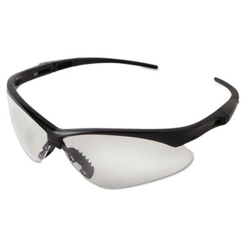 KleenGuard Nemesis Safety Glasses  Black Frame  Clear Lens (KCC 25676)