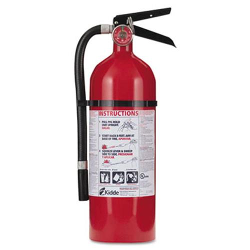Kidde Pro 210 Fire Extinguisher  4lb  2-A  10-B C (KDD 21005779)