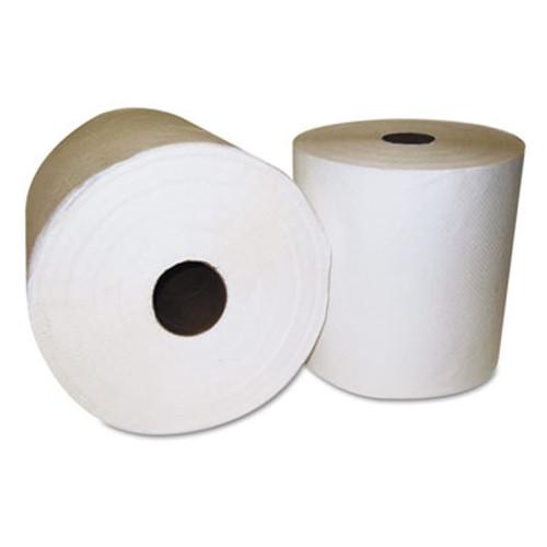 General Supply Hardwound towel, White, One-ply, 800 ft, 6/CT (GEN 1920)