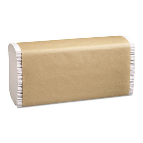 Marcal PRO 100  Recycled Folded Paper Towels  9 1 4x9 1 2  Multi-Fold  White  250 Pk  16 Ct (MAC P-200B)