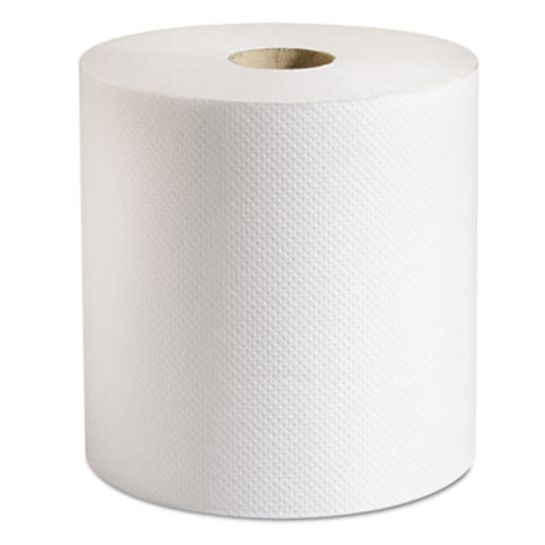 Marcal PRO 100  Recycled Hardwound Roll Paper Towels  7 7 8 x 800 ft  White  6 Rolls Ct (MAC P-708B)