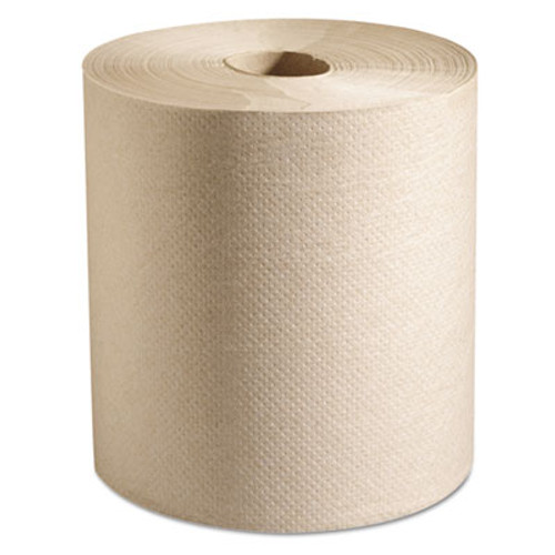 Marcal PRO 100  Recycled Hardwound Roll Paper Towels  7 7 8 x 800 ft  Natural  6 Rolls Ct (MAC P-728N)