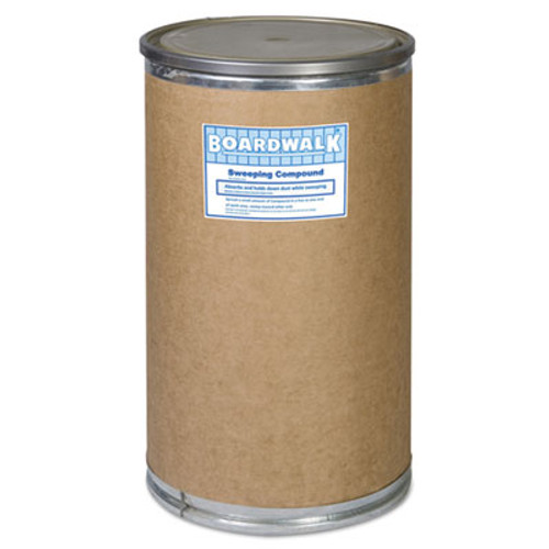 Boardwalk Heavy Duty Oil-Based Sweeping Compound, Powder, 300-lb Drum (BWK 9300-HD)
