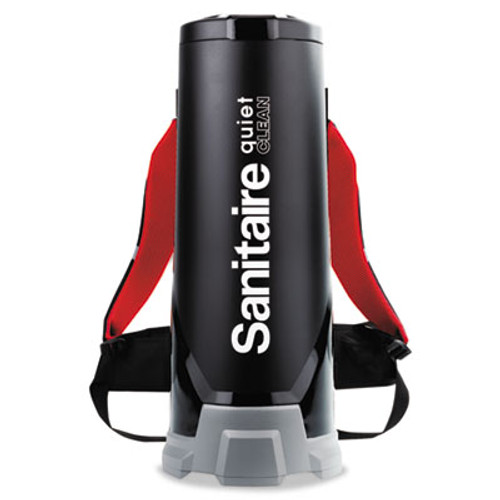 Sanitaire TRANSPORT QuietClean HEPA Backpack Vacuum  10 qt  Black (EUR 535)