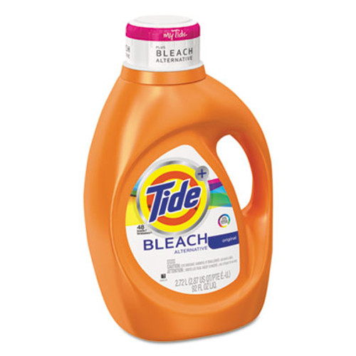 Tide Liquid Laundry Detergent plus Bleach Alternative  Original Scent  92 oz  4 Ctn (PGC 87546)