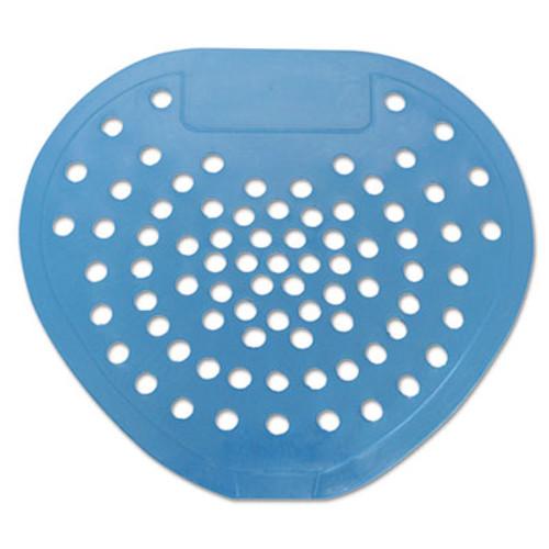 HOSPECO Health Gards Vinyl Urinal Screen  7 3 4 w x 6 7 8 h  Blue  Mint  Dozen (HOS 03904)
