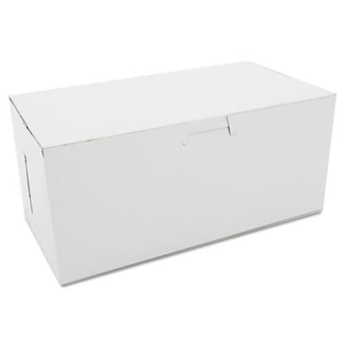 SCT Non-Window Bakery Boxes, 9 x 5 x 4, White, 250/Carton (SCH 0949)