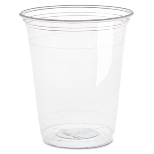 Dart Ultra Clear Cups  Squat  16 oz  PET  50 Bag  1000 Carton (DCC TP16D)