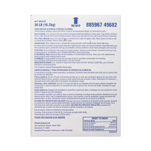 Ajax Laundry Detergent Powder  All Purpose  36 lb Box (PBC 49682)