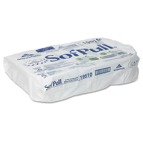 Georgia Pacific Professional High Capacity Center Pull Tissue  Septic Safe  2-Ply  White  1000 Sheets Roll  6 Rolls Carton (GPC 195-10)