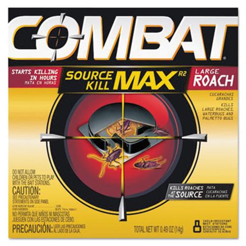 Combat Roach Bait Insecticide  0 49 oz Bait  8 Pack  12 Pack Carton (DIA 51913)