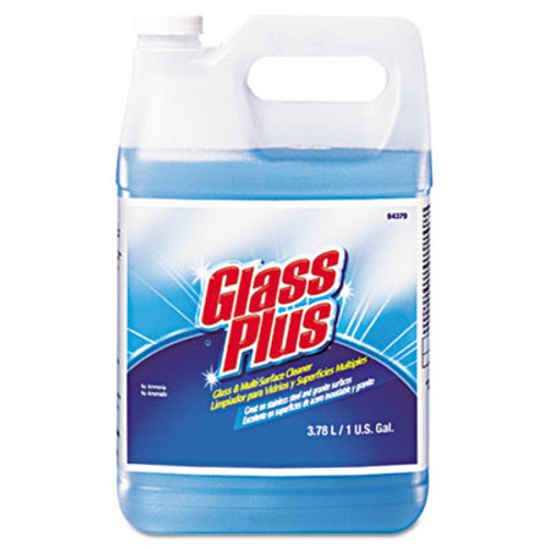 Glass Plus Glass Cleaner  Floral  1gal Bottle  4 Carton (DVO 94379)