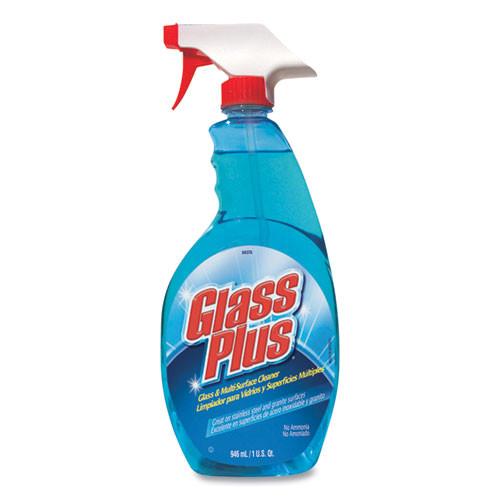 Glass Plus Glass Cleaner  32oz Spray Bottle  12 Carton (DVO 94378)
