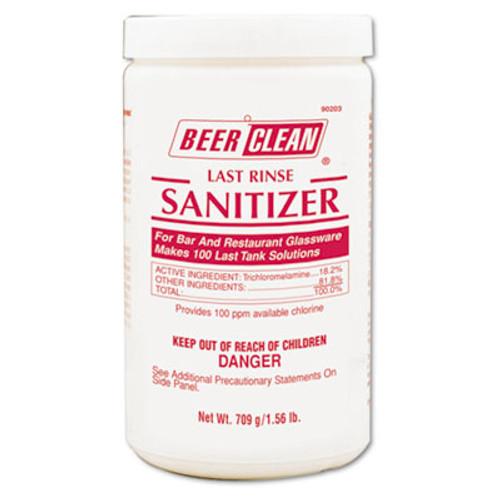 Diversey Beer Clean Last Rinse Glass Sanitizer, Powder, 25 oz Container (DVO 90203)