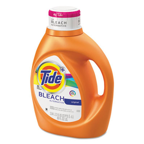 Tide Liquid Laundry Detergent plus Bleach Alternative, Original Scent, 69 oz Bottle (PGC 87545)