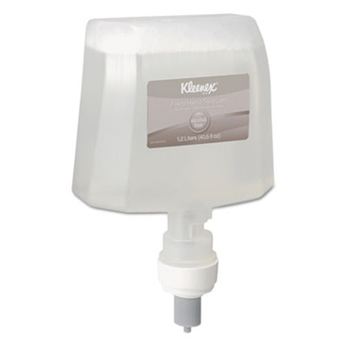 Scott Essential Alcohol-Free Foam Hand Sanitizer  1 200 ml  Clear  2 Carton (KCC 12979)