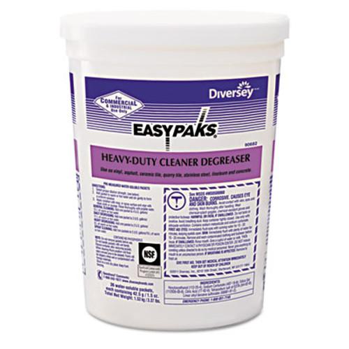 Easy Paks Heavy-Duty Cleaner Degreaser  1 5 oz Packet  36 Tub  2 Tubs Carton (DVO 90682)