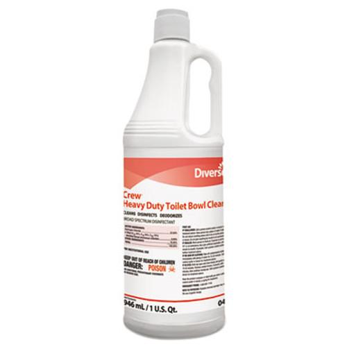 Diversey Crew Heavy Duty Toilet Bowl Cleaner  Minty  32 oz Squeeze Bottle  12 Carton (DVO 04560)