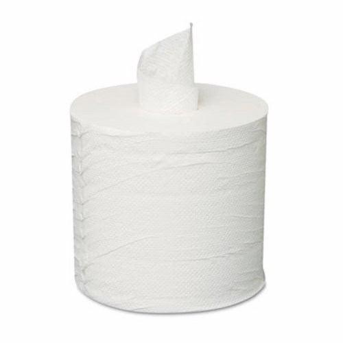 GEN Center-Pull Roll Towels  2-Ply  White  8 x 10  600 Roll  6 Rolls Carton (GEN CPULL)