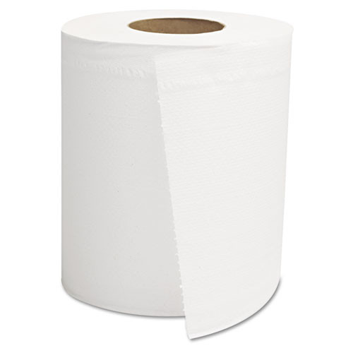 GEN Center-Pull Roll Towels  2-Ply  White  8 x 10  600 Roll  6 Rolls Carton (GEN CPULL)